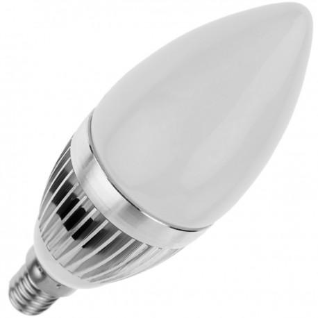 Bombilla LED C35 E14 230VAC 3W luz día