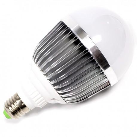 Bombilla LED G70 E27 230VAC 9W luz cálida
