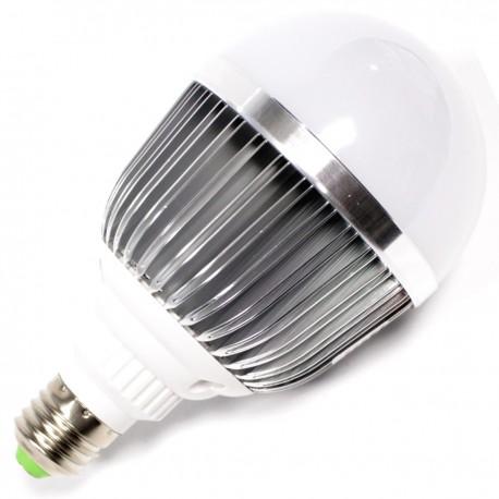 Bombilla LED G70 E27 230VAC 12W luz cálida