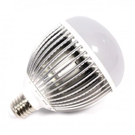 Bombilla LED G100 E27 230VAC 15W luz cálida