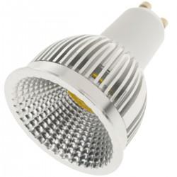 Bombilla LED dicroica GU10 230VAC 5W 120° 50mm luz cálida