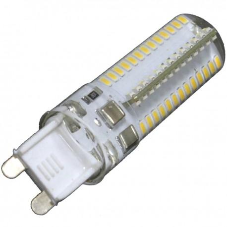 Bombilla LED G9 bipin 230VAC 5W luz cálida