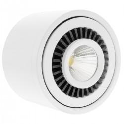 Foco LED de superficie Lámpara COB 9W 220VAC 3000K blanca 85mm