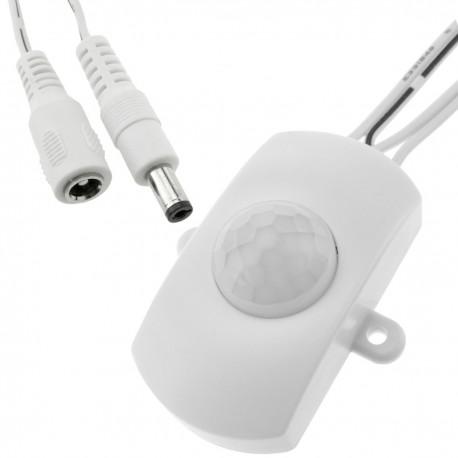 Detector de movimiento por infrarrojos 5 x 4 x 2.2 cm DC blanco