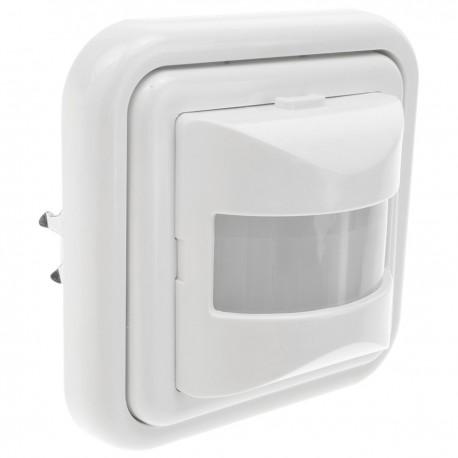 Detector movimiento por infrarrojos de pared 80x80mm