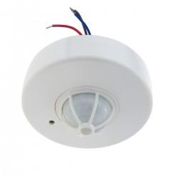 Detector de movimiento por infrarrojos de techo con un sensor