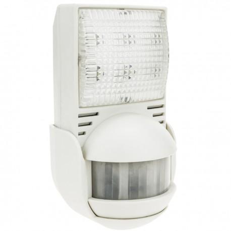Lámpara de emergencia con sensor de movimiento por infrarrojos