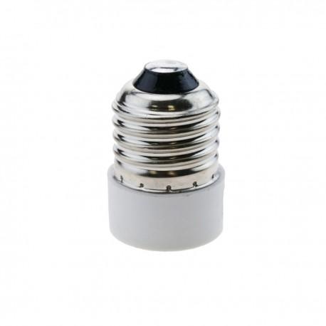 Adaptador rosca de bombilla E27 a E14
