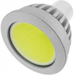 Bombilla LED COB GU10 230VAC 4W 90° 50mm luz cálida