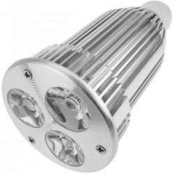 Bombilla LED GU10 230VAC 9W 30° 50mm luz día