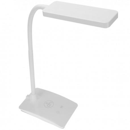 Lámpara LED táctil de sobremesa con 3 niveles de intensidad y 3 niveles de tono de luz