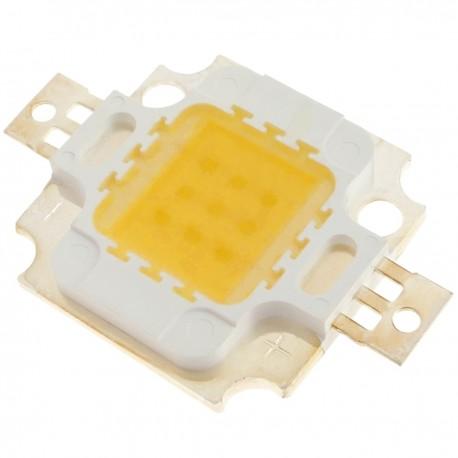 LED COB DIY 10W 800LM 3000K emisor de luz blanca cálida 20 x 20 mm