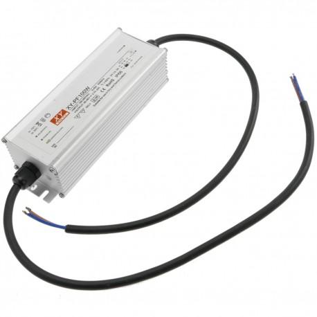 Fuente de alimentación 100-265VAC 100W 26-38VDC en chasis de aluminio