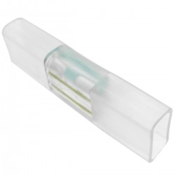 Empalme conector recto para LED Neón Flex LNF 2 pin 16x8mm