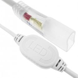 Enchufe conexión eléctrica para LED Neón Flex LNF 2 pin 16x8mm 220VAC