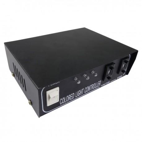 Controlador RGB multicolor para LED Neón Flex LNF 4 pin 26x14mm 220VAC