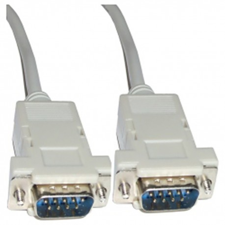 Cable Serie Null-Modem 3m (DB9-M/M)