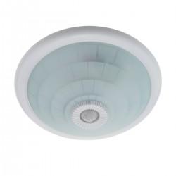 Lámpara E27 con detección de movimiento para 2 bombillas E27