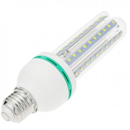 Bombilla de luz LED de 12W E27 luz fría día 6000K alargada
