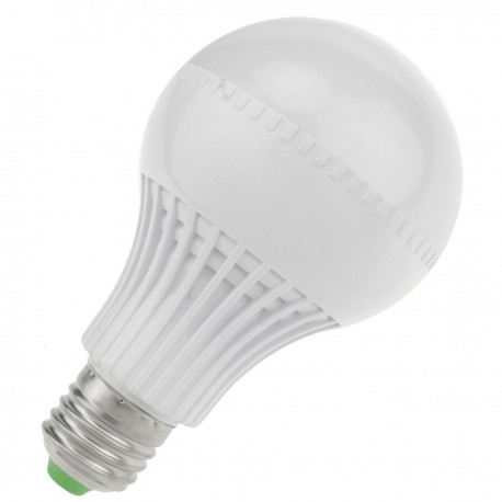 Bombilla LED G70 E27 230VAC 9W luz cálida 3000K