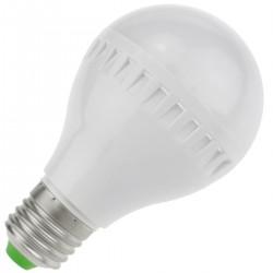Bombilla LED A60 E27 230VAC 7W luz fría día 6000K