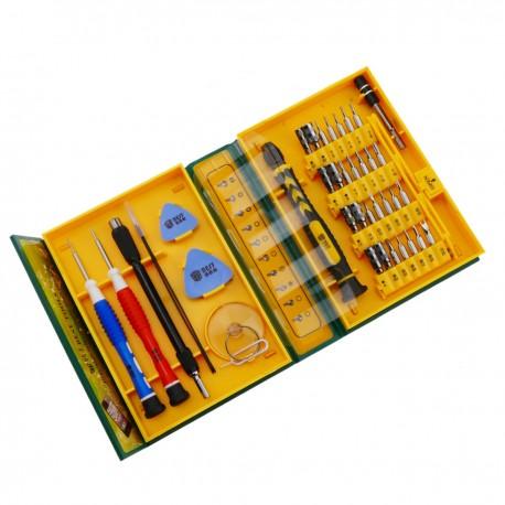 Kit de destornilladores para dispositivos electrónicos de 37 piezas modelo BEST-8921