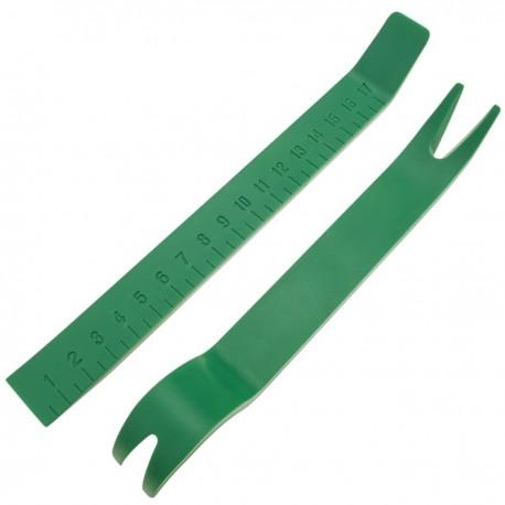 Palancas de plástico para desmontar paneles tapas 180mm