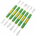 Kit de 6 palancas para desmontar dispositivos electrónicos 12 puntas 150mm