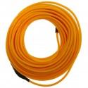 Cable electroluminiscente dorado de 2.3mm en bobina 10m conectada a 220VAC