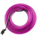 Cable electroluminiscente violeta de 2.3mm en bobina 25m