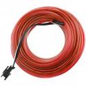 Cable electroluminiscente rosa de 2.3mm en bobina 25m