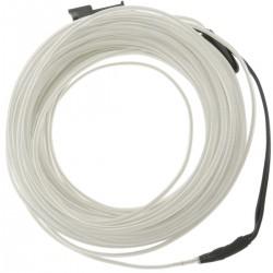 Cable electroluminiscente blanco de 2.3mm en bobina 25m