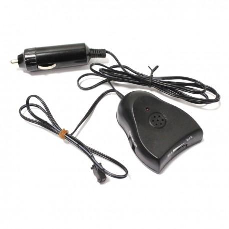 Inversor para cable electroluminiscente tipo mechero de coche para longitud de 0,5-10m con audio