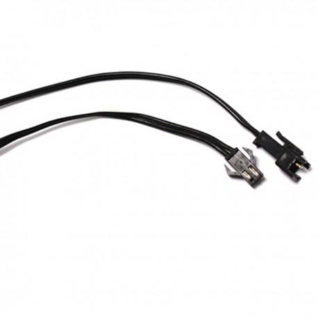 Conector para empalme de cable electroluminiscente a inversor