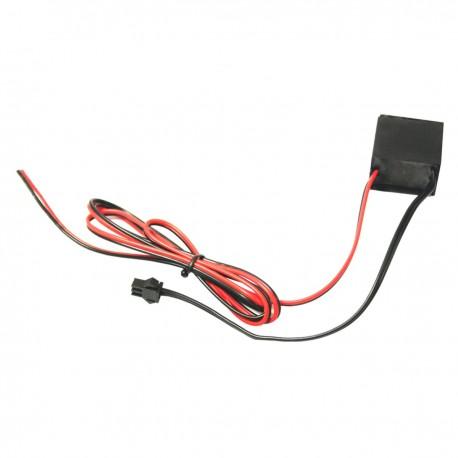 Inversor para cable electroluminiscente tipo 12VDC para longitud de 0,5-5,0m