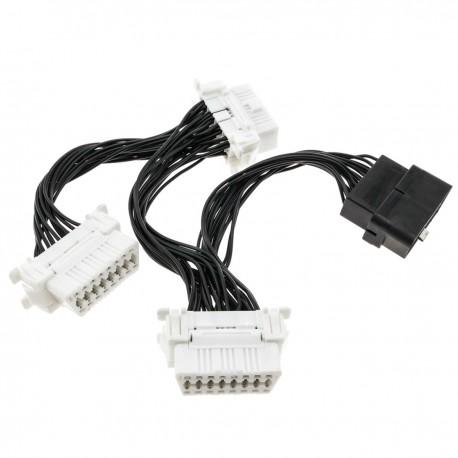 Multiplicador de cable OBD OBD2 de 16 pin