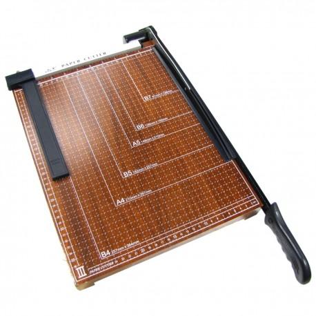 Cizalla de palanca para papel B4 (38x30cm)