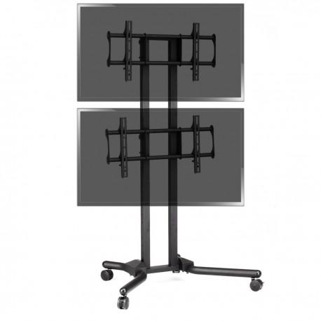 """Soporte de TV para 2 pantallas en vertical de 32""""-56"""" VESA 600x400 mm"""