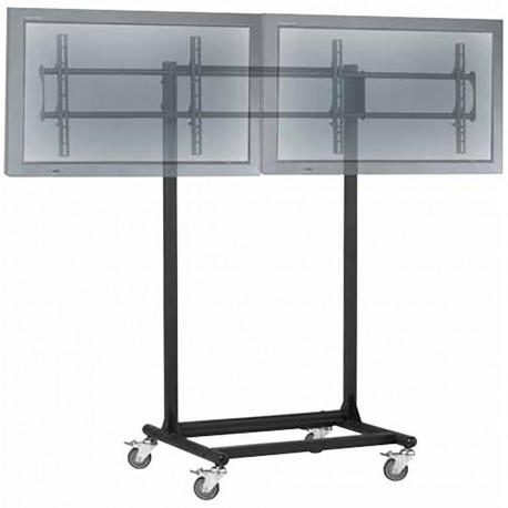 """Soporte de TV para 2 pantallas en horizontal de 32""""-56"""" VESA 600x400 mm"""