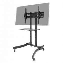 "Soporte de pie con ruedas para pantalla plana TV LED LCD de 37""-70"" 1250mm"