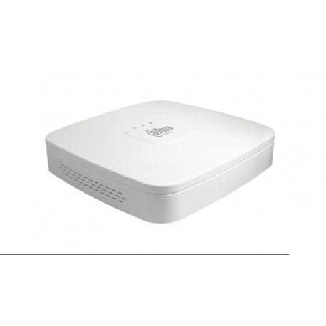 NVR Res. Máxima 8MP 4K 80 Mbps POE 1080P HDMI/VGA/Audio 2x USB blanco
