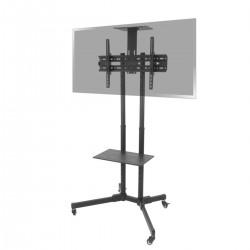"Soporte de pie con ruedas para pantalla plana TV LED LCD de 37""-70"" 1803mm"