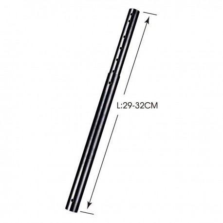 Mástil extensible para soporte de techo de 29 cm a 32 cm (ACC-816)