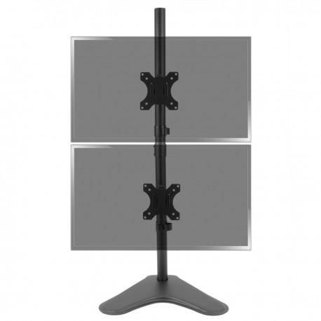 Soporte de pantalla plana, TV, monitor - Pié de sobremesa para 2 pantallas