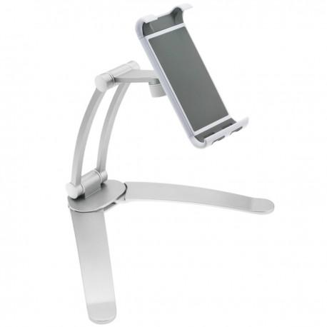 """Soporte articulado de tablet de 7-11"""" para montaje en mesa pared y estanterías"""