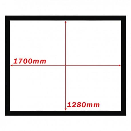 Pantalla de proyección fija pared de 1700x1280mm 4:3 DisplayMATIC
