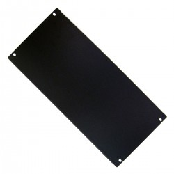 "Panel ciego de 5U para armario rack 19"" Tapa negra"