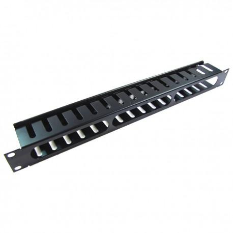Panel de gestión ordenación de cables para armario rack de 1U x 68 mm