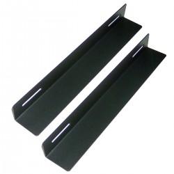 Guías laterales fijas de soporte para armario rack 19 con fondo 350 mm
