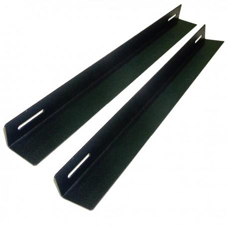 Guías laterales fijas de soporte para armario rack 19 con profundidad 550 mm